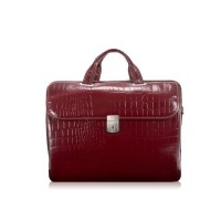 "Ignoto 17"" Leather Large Ladies' Laptop Brief"